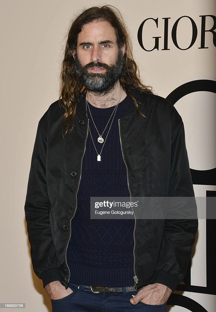 Andrew Wyatt attends Armani - One Night Only New York at SuperPier on October 24, 2013 in New York City.