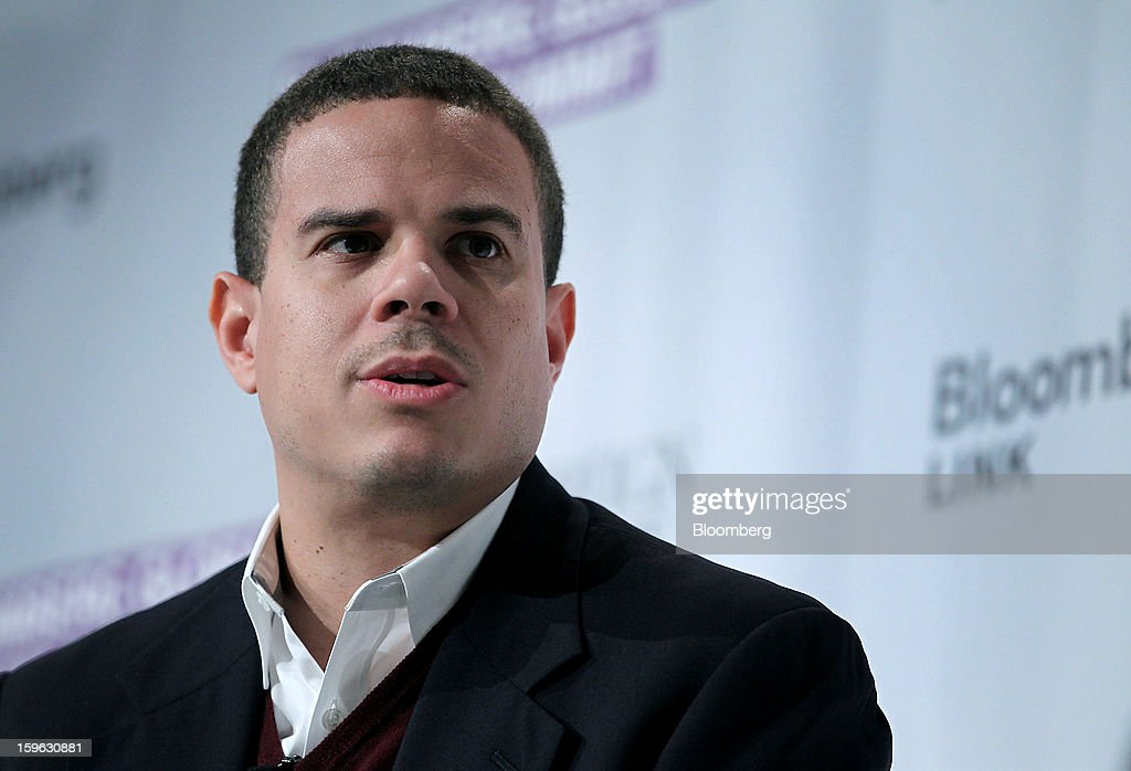 Andrew Young III, chief executive officer of GiveLocally, speaks at the Bloomberg Global Markets Summit in New York, U.S., on Thursday, Jan. 17, 2013. The Bloomberg Global Markets Summit, co-hosted by Foreign Affairs Magazine and Bloomberg LINK, convenes market makers and market movers as investors map their strategy for the year ahead. Photographer: Jin Lee/Bloomberg via Getty Images