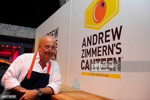 Andrew Zimmern attends Best Of The Munchies People's Choice Food Awards hosted by Andrew Zimmern during the 2015 Food Network Cooking Channel South...