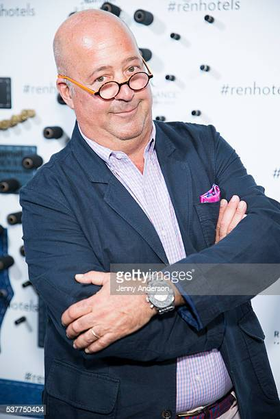 Andrew Zimmern attends Renaissance New York Midtown Hotel Launch Party on June 2 2016 in New York City