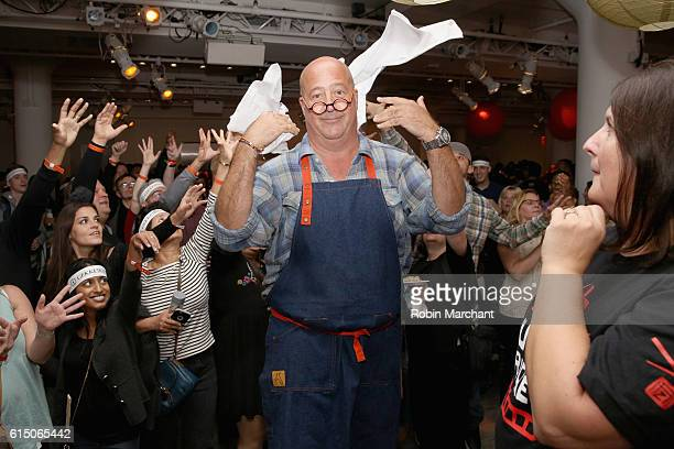 Andrew Zimmern hosts Lucky Chopsticks An Asian Night Market at Metropolitan West on October 16 2016 in New York City