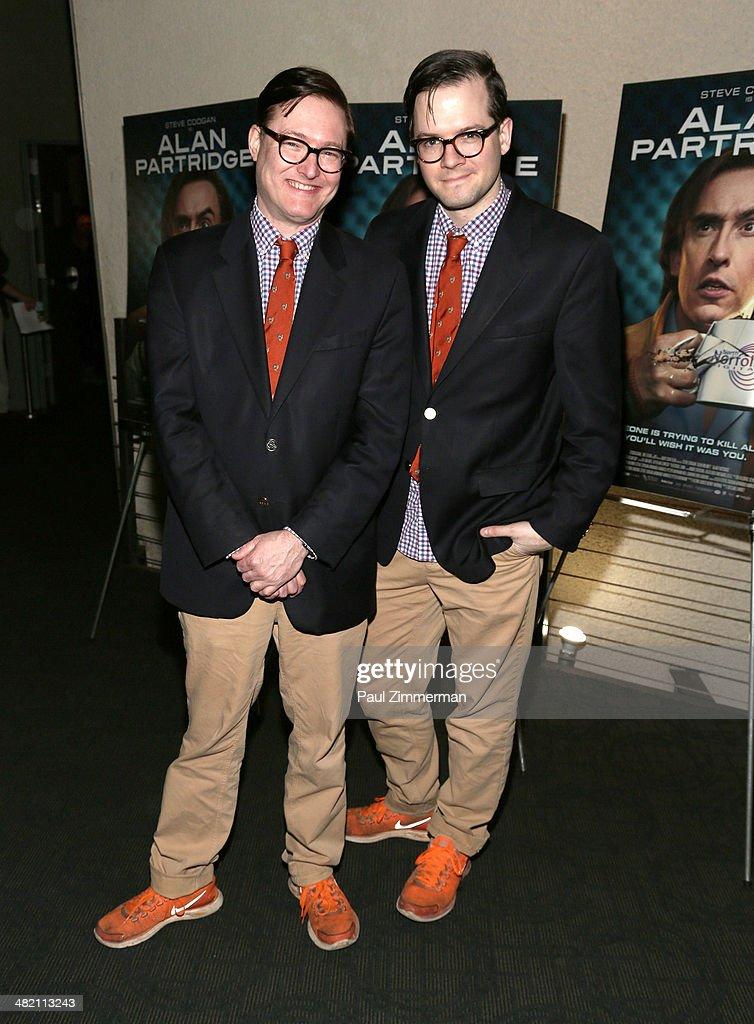 AndrewAndrew attend the 'Alan Partridge' New York screening at Landmark's Sunshine Cinema on April 2, 2014 in New York City.