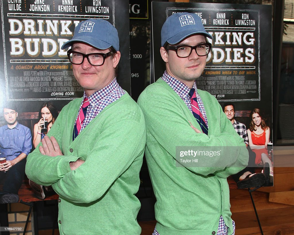 AndrewAndrew attend the 'Drinking Buddies' screeningat Nitehawk Cinema on August 19, 2013 in the Brooklyn borough of New York City.
