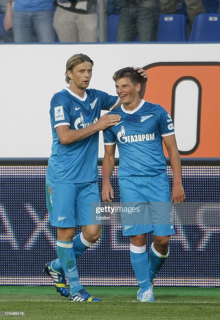 FC Zenit invited Arshavin and Tymoschuk to work in club structures 07/02/2015 77