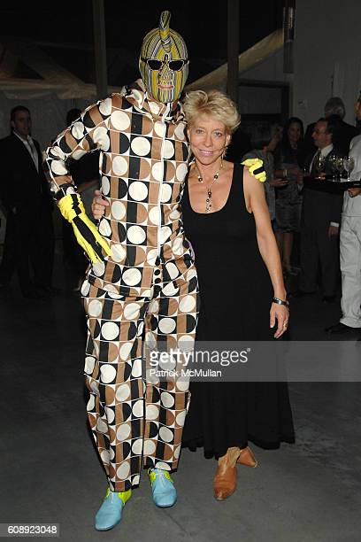Andrey Barteney and Lisa de Kooning attend CALVIN KLEIN COLLECTION 'First Look' of THE NEW MUSEUM on The BOWERY at The New Museum on The Bowery on...