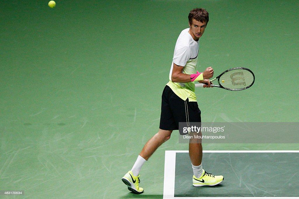 ABN AMRO World Tennis Tournament - Day Two