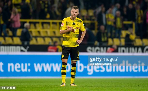 Andrey Yarmolenko of Borussia Dortmund during the Bundesliga match between Borussia Dortmund and RB Leipzig at Signal Iduna Park on October 14 2017...