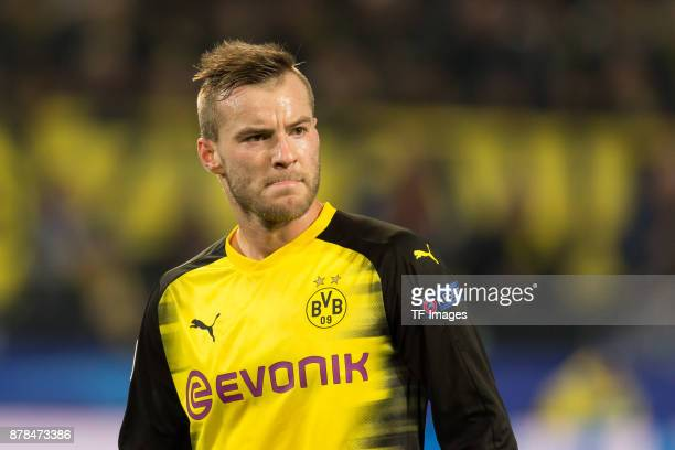 Andrey Yarmolenko of Borussia Dortmund looks on during the UEFA Champions League group H match between Borussia Dortmund and Tottenham Hotspur at...