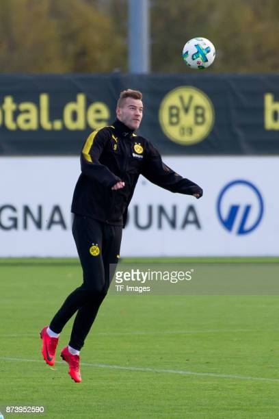Andrey Yarmolenko of Dortmund controls the ball during a training session at BVB trainings center on November 5 2017 in Dortmund