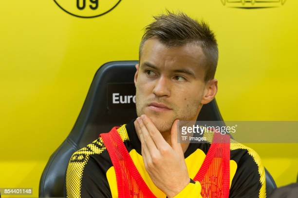 Andrey Yarmolenko of Dortmund looks on during the Bundesliga match between Borussia Dortmund and Borussia Moenchengladbach at Signal Iduna Park on...