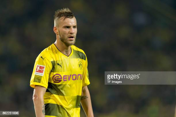 Andrey Yarmolenko of Dortmund looks on during the Bundesliga match between Borussia Dortmund and RB Leipzig at Signal Iduna Park on October 14 2017...