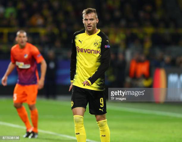 Andrey Yarmolenko of Dortmund looks on during the UEFA Champions League Group H soccer match between Borussia Dortmund and APOEL Nicosia at...