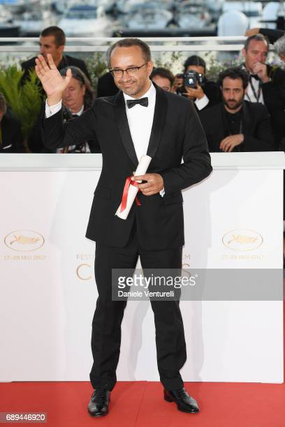 Andrey Zvyagintsev winner of the the Prix Du Jury for the movie 'Loveless' attends the Palme D'Or winner photocall during the 70th annual Cannes Film...