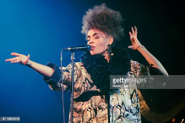 Andreya Triana performs at the Union Chapel on September 30 2016 in London England
