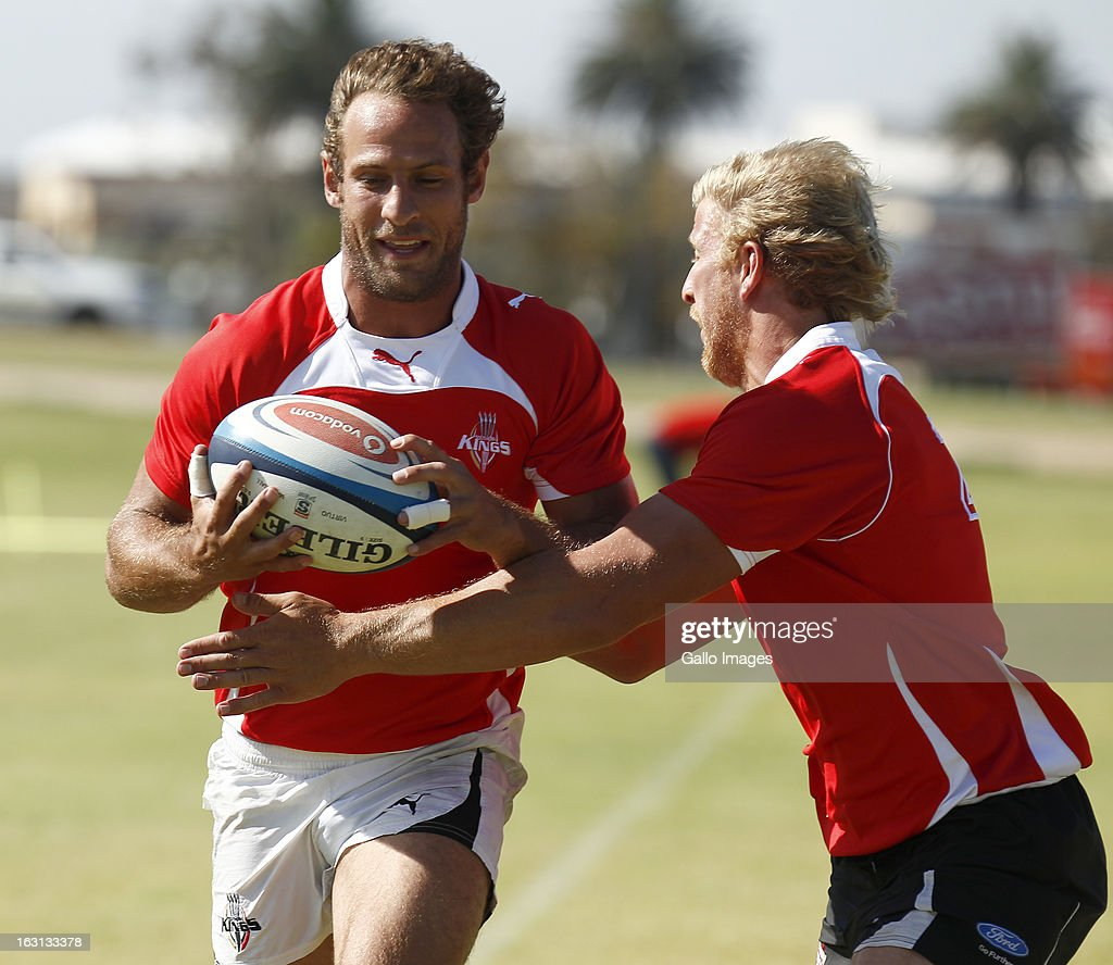 Andriess Strauss in action during a Southern Kings training session at Nelson Mandela Bay Stadium on March 05, 2013 in Port Elizabeth, South Africa.