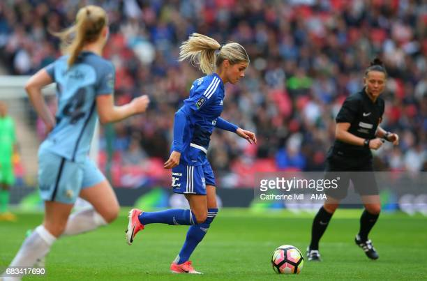 LONDON ENGLAND MAY 13 Andrine Hegerberg of Birmingham City Ladies during the SSE Women's FA Cup Final between Birmingham City Ladies and Manchester...