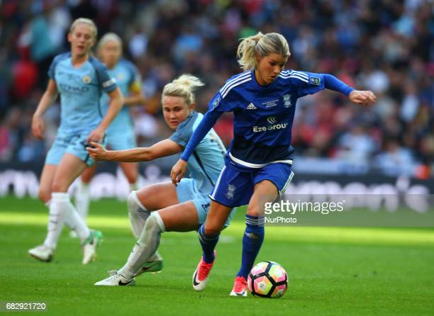 Andrine Hegerberg of Birmingham City LFC during The SSE FA Women's CupFinal match betweenBirmingham City Ladies v Manchester City women at Wembley...