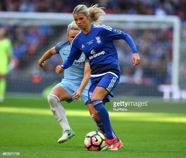 Andrine Hegerberg of Birmingham City LFC during The SSE FA Women's CupFinal match between Birmingham City Ladies v Manchester City women at Wembley...