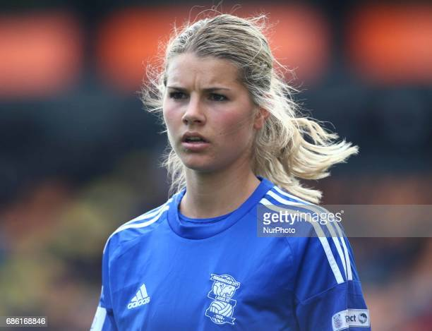 Andrine Hegerberg of Birmingham City LFC during Women's Super League 1 Spring Series match between Arsenal Ladies against Birmingham City Ladies at...