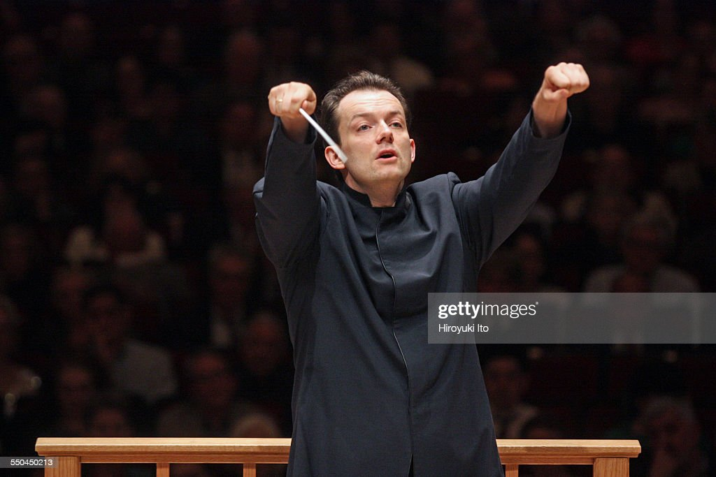 Andris Nelsons leading the Boston Symphony Orchestra in Mahler's 'Symphony No. 6' on Friday night, April 17, 2015.