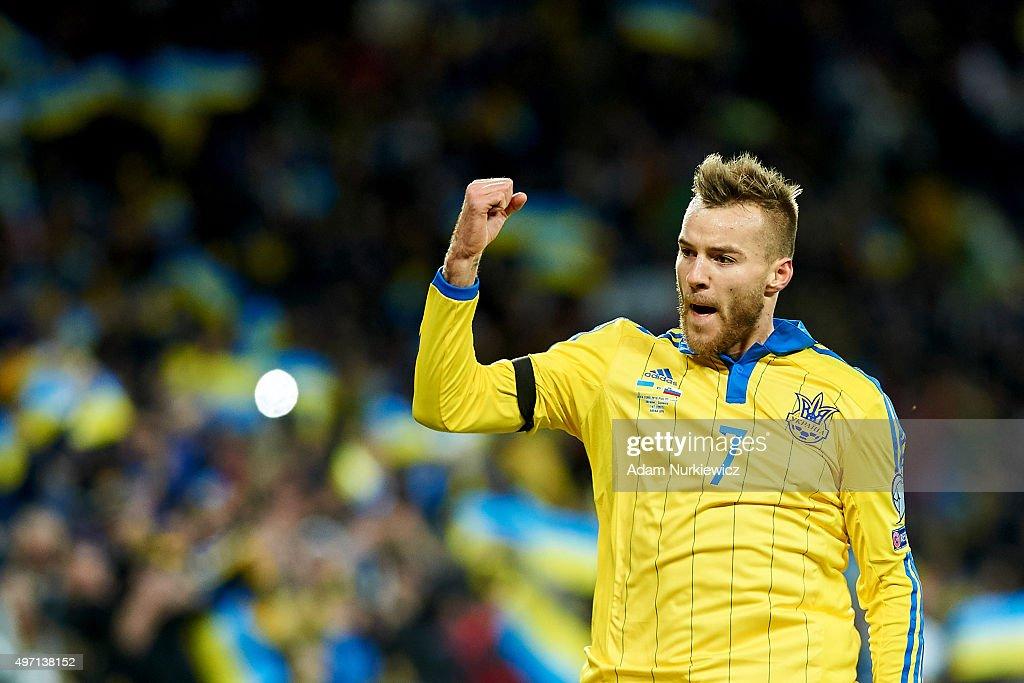 Ukraine v Slovenia - UEFA EURO 2016 Qualifier: Play-Off First Leg