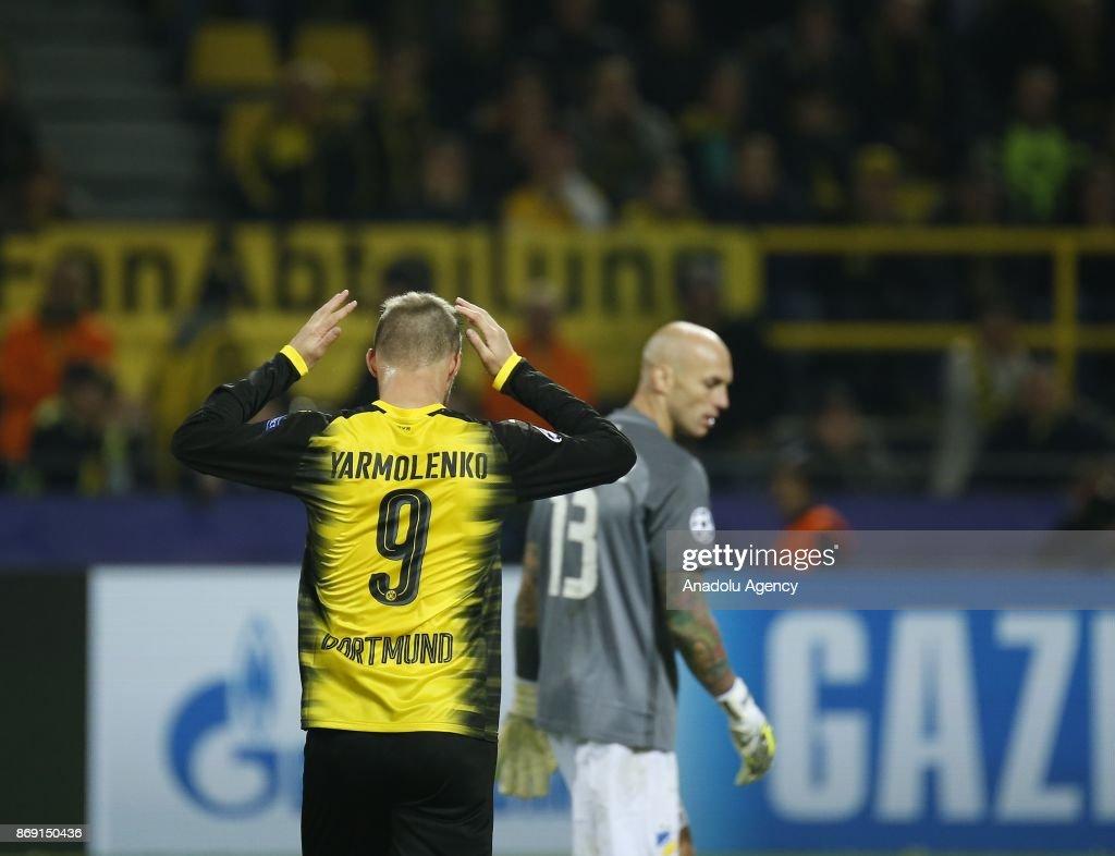 Borussia Dortmund v APOEL Nicosia UEFA Champions League