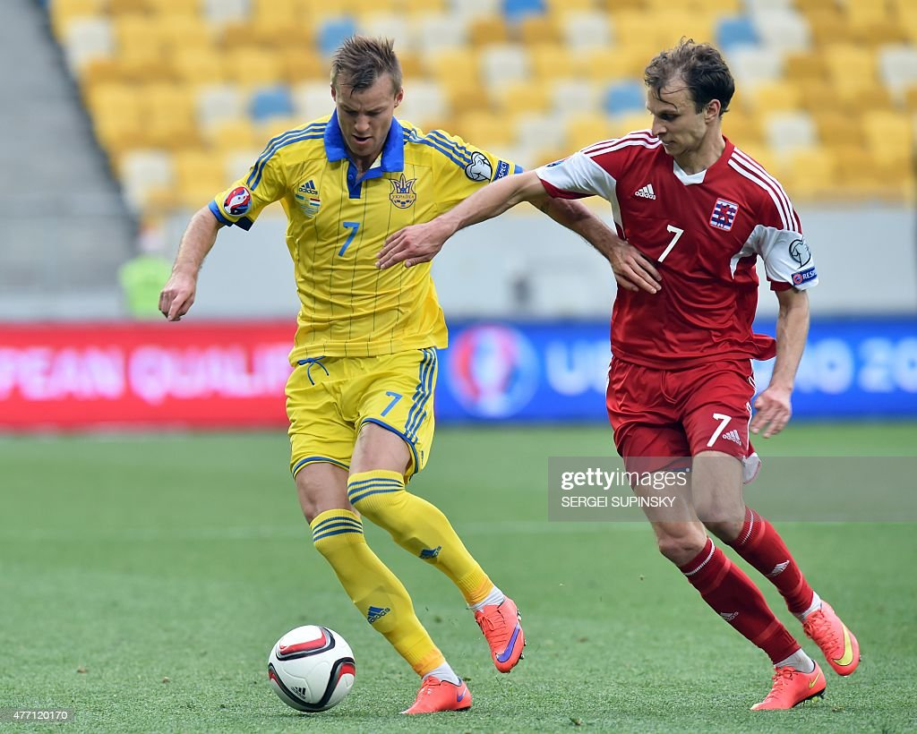 Ukraine v Luxembourg UEFA EURO 2016 Qualifier s and