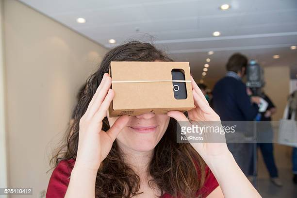 Android enthusiast is enjoying the Google Cardboard who's a Virtual Reality experience starting with a simple viewer anyone can build or buy on April...