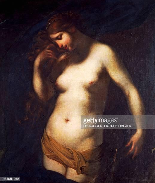 Andromeda by Francesco Furini oil on canvas 118x100 cm Rome Galleria Nazionale D'Arte Antica Di Palazzo Corsini