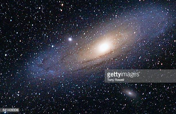 Andromeda Galaxy imaged from 12,500 feet in California's White Mountains