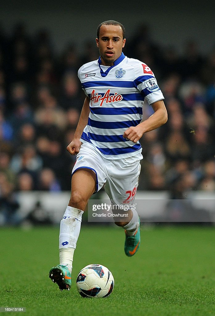 Andros Townsend of Queens Park Rangers in action during the Barclays Premier League match between Queens Park Rangers and Sunderland at Loftus Road on March 9, 2013 in London, England.