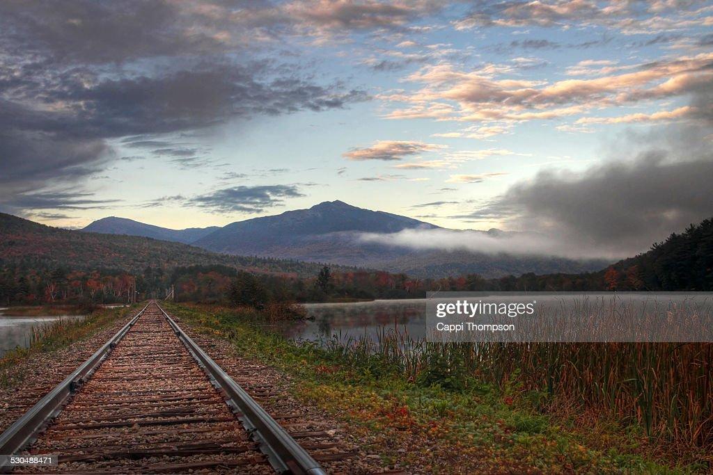 Androscoggin river railway