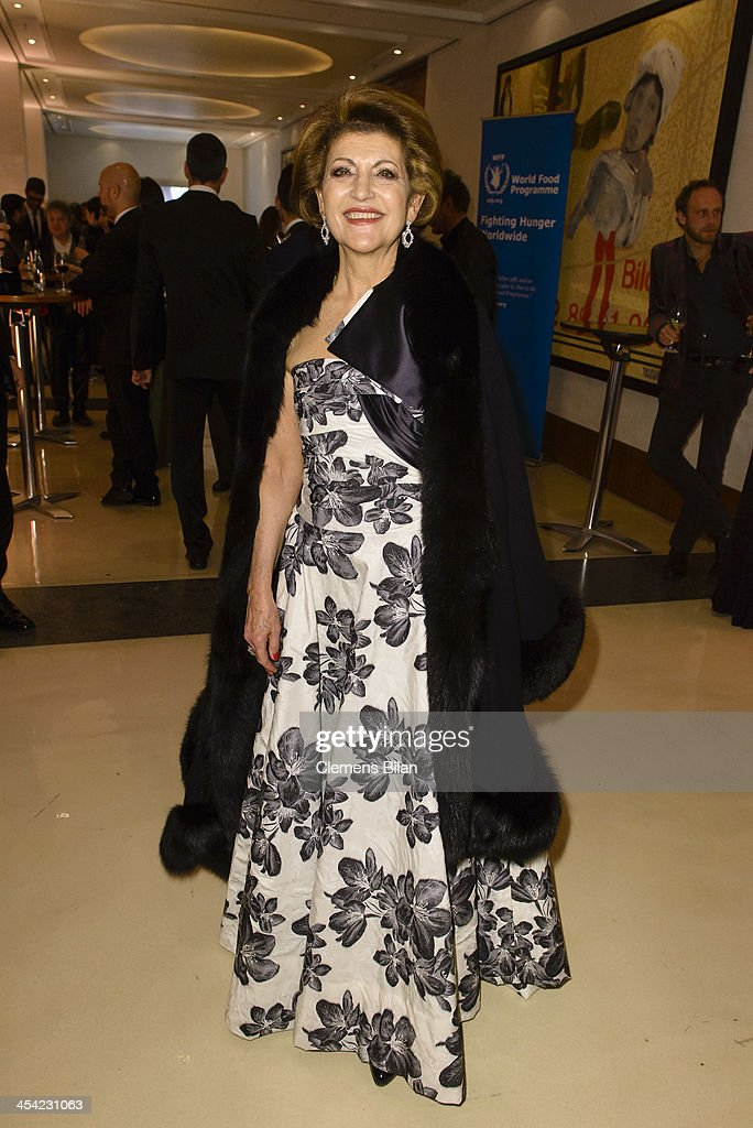 Androulla Vassiliou poses at the aftershow party of the European Film Awards 2013 on December 7, 2013 in Berlin, Germany.