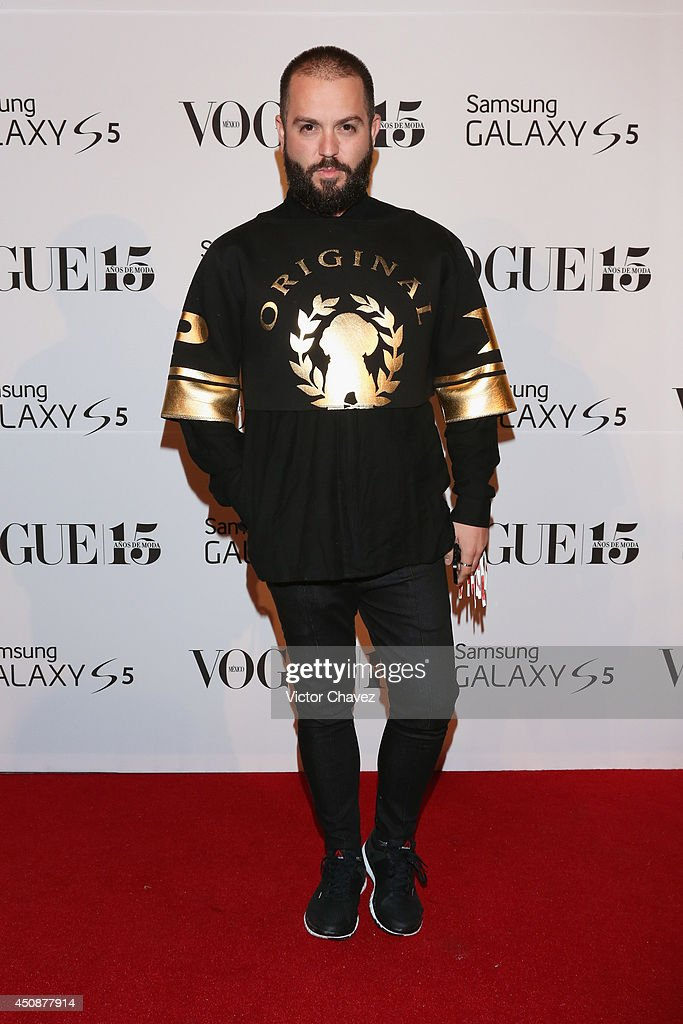 Andrés Jiménez, Mancandy attends the Vogue Mexico Who's on Next The Vogue Fashion Fund 2nd edition at Centro Gallego on June 18, 2014 in Mexico City, Mexico.