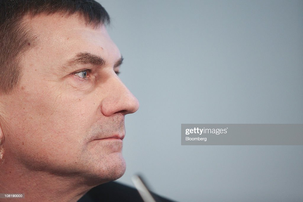 <a gi-track='captionPersonalityLinkClicked' href=/galleries/search?phrase=Andrus+Ansip&family=editorial&specificpeople=566399 ng-click='$event.stopPropagation()'>Andrus Ansip</a>, Estonia's prime minister, pauses during the Nordic and Baltic summit in London, U.K., on Thursday, Jan. 20, 2011. U.K. Prime Minister David Cameron, hosting a meeting of the leaders of eight other northern European countries, said they can plot a path for economic growth for the rest of the European Union. Photographer: Chris Ratcliffe/Bloomberg via Getty Images