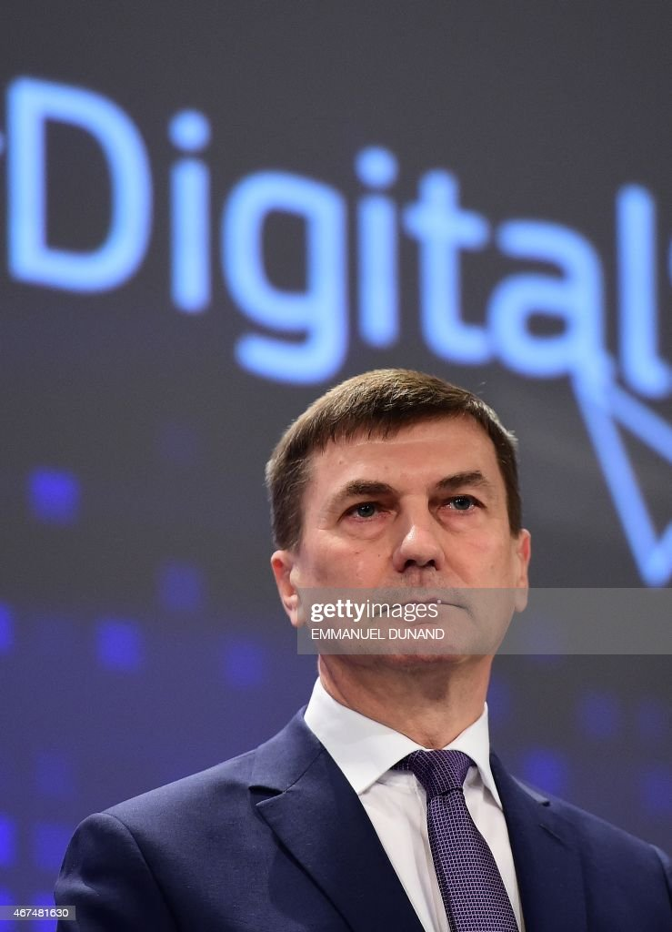 <a gi-track='captionPersonalityLinkClicked' href=/galleries/search?phrase=Andrus+Ansip&family=editorial&specificpeople=566399 ng-click='$event.stopPropagation()'>Andrus Ansip</a>, European Commissioner for Digital Single Market, holds a press conference at the European Commission in Brussels, March 25, 2015.
