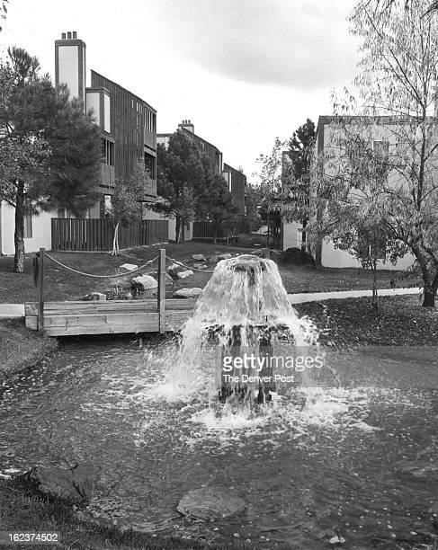 OCT 16 1980 OCT 19 1980 Andscaping At The Falls Includes Trees Ponds Streams Even A Waterfall Adult condominium conversion attracts singles and young...