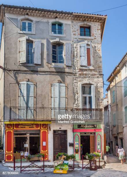 Anduze town house with shops
