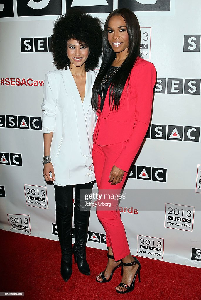 Andy Allo and Michelle Williams attend 2013 SESAC Pop Music Awards at New York Public Library on May 13, 2013 in New York City.