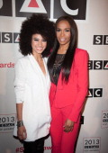 Andy Allo and Michelle Williams attends 2013 SESAC Pop Music Awards at New York Public Library on May 13 2013 in New York City