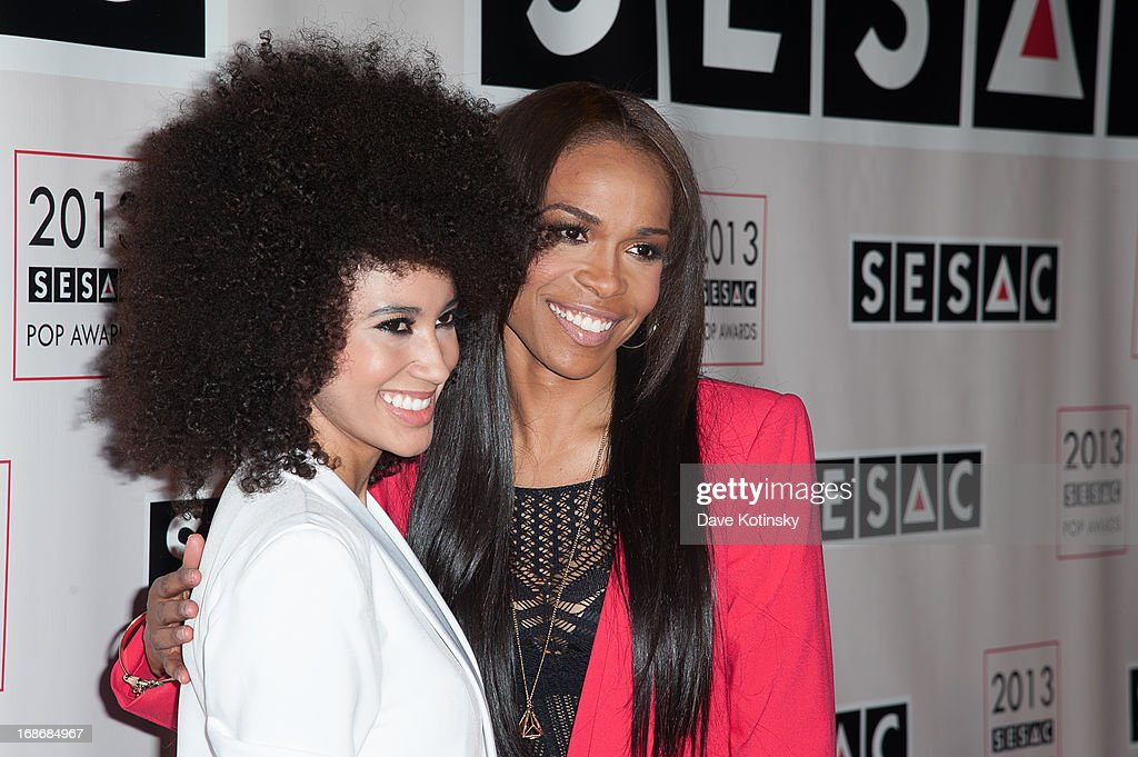 Andy Allo and Michelle Williams attends 2013 SESAC Pop Music Awards at New York Public Library on May 13, 2013 in New York City.
