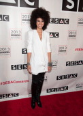 Andy Allo attends 2013 SESAC Pop Music Awards at New York Public Library on May 13 2013 in New York City