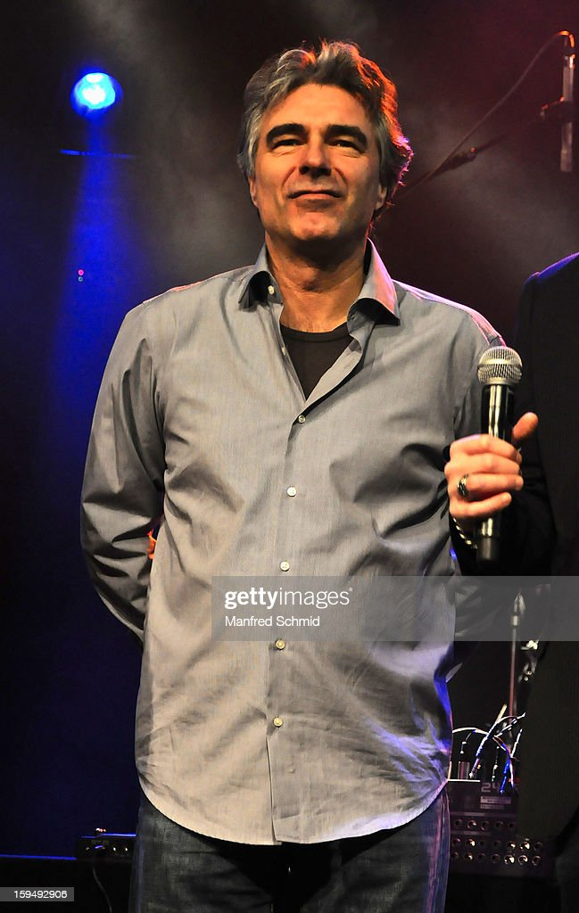 Andy Baum performs onstage during the 'Hallucination Company plays Hansi Lang Concert' at Szene Wien on January 13, 2013 in Vienna, Austria.