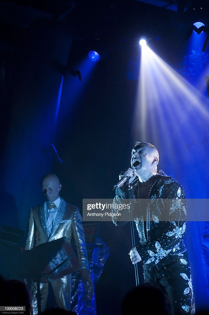 Erasure Perform In San Francisco