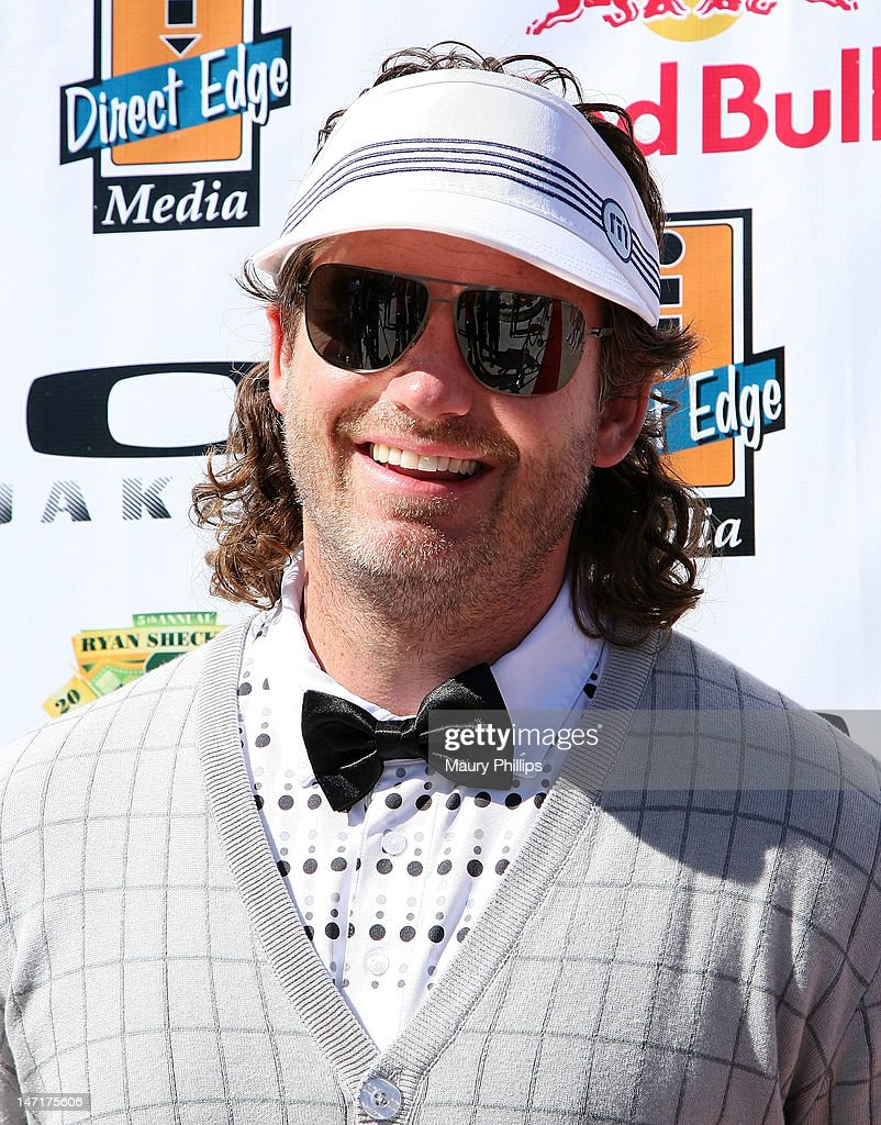 Andy Bell attends Ryan Sheckler X Games Celebrity Golf Tournament at Trump National Golf Course on June 26, 2012 in Palos Verdes Estates, California.