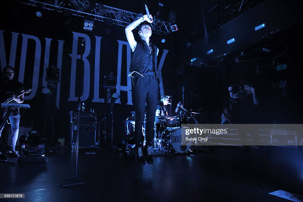 Andy Black performs on stage at KOKO on May 20 2016 in London England