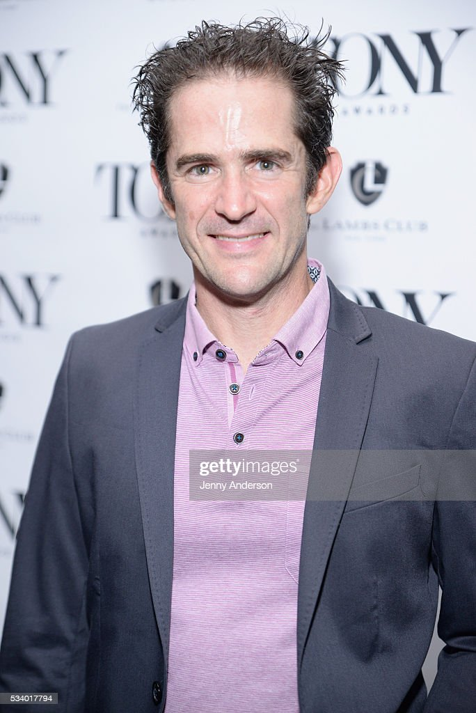 Andy Blankenbuehler arrives at A Toast To The 2016 Tony Awards Creative Arts Nominees at The Lambs Club on May 24, 2016 in New York City.