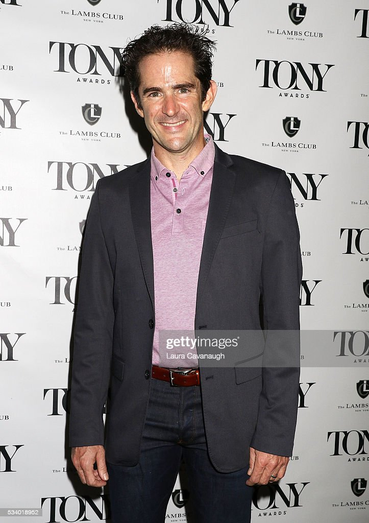 Andy Blankenbuehler attends A Toast to The 2016 Tony Awards Creative Arts Nominees on May 24, 2016 in New York City.
