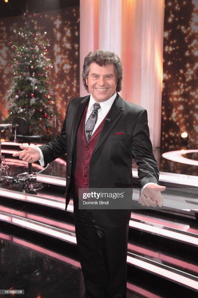 Andy Borg attends 'Die Schoensten Weihnachtshits Mit Carmen Nebel' Show on December 6 2012 in Munich Germany