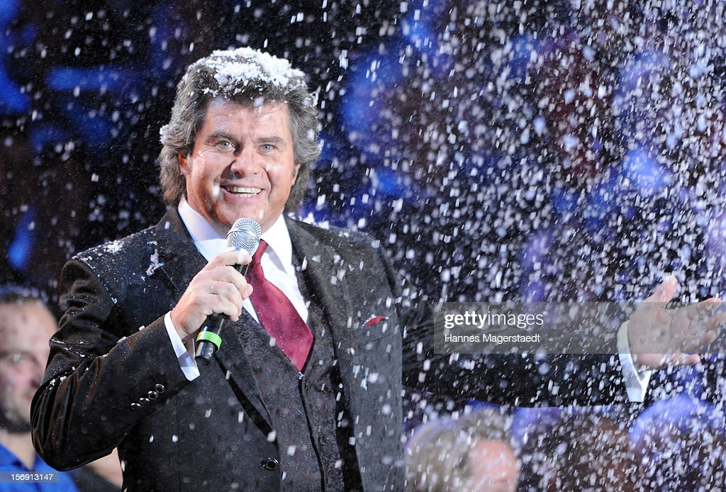 Andy Borg attends the 'Heiligabend Mit Carmen Nebel' Show Taping at the Bavaria Studios on November 24, 2012 in Munich, Germany.